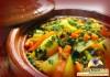Tagine de légumes au safran