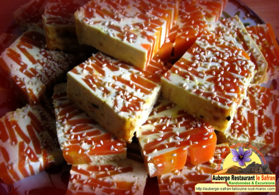 Terrine de carottes au safran