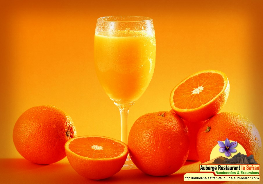 Jus d'orange naturel