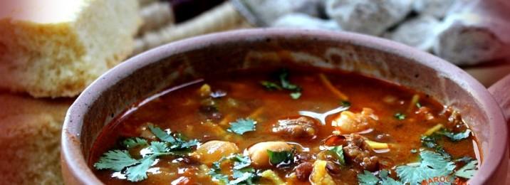 Harira- soupe traditionnelle marocaine