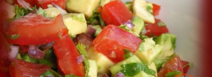 Salade marocaine à l'argan et vinaigrette safranée